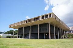 AHL & Warnecke - Hawaii State Capitol - Honolulu, HI (fhong) Tags: architecture hi ahl honolulu hawaiistatecapitol warnecke