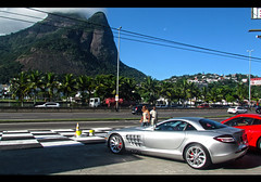 Mercede-Benz SLR Mclaren (Marcorj1) Tags: sky slr cars mercedes benz flickr exotic mercedesbenz carros carro barra tijuca prata skymotors