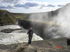 Islandia. Gullfoss. (escandio) Tags: santiago waterfall islandia gullfoss 2009 catarata scislandia