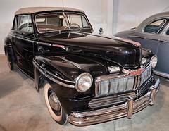1947 Mercury Convertible (Pat's Pics36) Tags: canada museum britishcolumbia summerland oldcar nikond7000 1947mercuryconvertible nikkor18to200mmvrlens nixdorfclassiccarmuseum