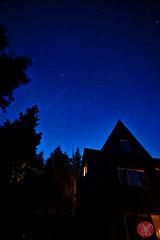So many stars! (Kasia Sokulska (KasiaBasic)) Tags: travel summer sky canada night stars landscape bc vancouverisland