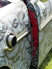santa maria 1124 (bballchico) Tags: ford skull santamaria custom 1949 shoebox kustom carart 2013 westcoastkustomscruisinnationals