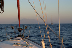 Sailing in Greece (dimitara) Tags: sea sailing yacht aegean greece regatta samothraki limnos thasos headingtosamothraki