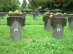 Maggiore Cemetery, Milan (roger.w800) Tags: italy milan cemetery war italia milano wwii guerra worldwarii fallen ww2 soldiers fighters nationalist 1945 fascist victims worldwar2 cimitero worldwartwo partisans partigiani caduti cimiteromaggiore soldati 193945 april1945 victimsofwar defeatoffascism maggiorecemetery endoffascism