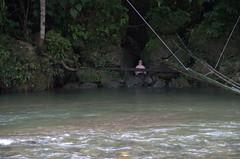 Hot springs in Tangkahan