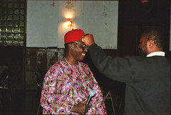Chief Osadebe from Nigeria Equator Club 1994 343 (photographer695) Tags: from by club chief nigeria 1994 hosted equator osadebe
