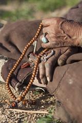 Prayer - Ladakh - India - Sylvain Brajeul  (Sylvain Brajeul) Tags: voyage travel india collier photographer hand main bracelet rosary himalaya ladakh 2012 inde ladakhi chapelet sylvainbrajeul