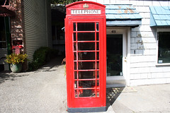 Telephone booth.jpg (Antoine Fougere1) Tags: red vintage photography photo creative telephonebooth seattlewa keepexploring photosbyantoine