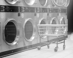 (Austin Kirkpatrick) Tags: white black night canon basket mat laundry