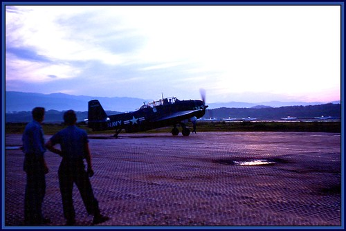 KB - K-18 Avenger, morning Mission - Korea circa 1953