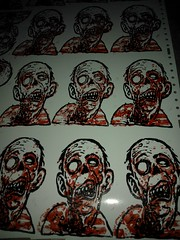 reprints (andres musta) Tags: sticker stickerart zombie andres musta