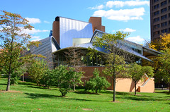 Lewis Library, Frank Gehry (Lee Sutton) Tags: new architecture frank university library nj lewis gehry architect princeton jersey 2008