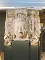 "L'exposition  ""Angkor : la naissance d'un mythe"" (musée Guimet) (dalbera) Tags: paris france cambodge angkor muséeguimet dalbera artkhmer"