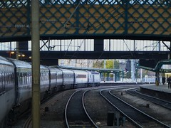 East Coast 43274.  1E17 0940 Inverness - Kings Cross.  Carlisle.  17th November 2013 (Ajax46.) Tags: carlisle eastcoast 43274 17thnovember2013 1e170940invernesskingscross divertedviacarlisleandhexham