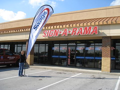Flag | Signarama Northeast Louisville, KY | Swags Sport Shoes