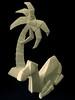 Porcelain Origami: Camel & Palm
