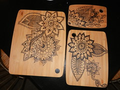 Mehndi Cutting Boards
