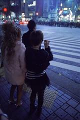 (v.ir.g.il.e) Tags: street leica urban film fashion japan night analog tokyo shibuya lostintranslation  mp argentique gyaru  800t cinestill