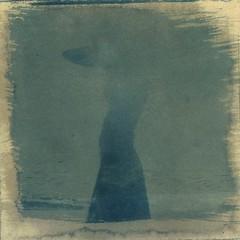 .101 (fiction-worthy wind) Tags: blue red sea sun black silhouette self print wine personal toned cyanotype cyanoty