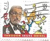 USA Stamp honoring Thedore Seuss Geisel (sftrajan) Tags: usa stamp drseuss author timbre postagestamp philately catinthehat sello briefmarke 邮票 francobollo 切手 почтоваямарка филателия डाकटिकट thedoreseussgeisel