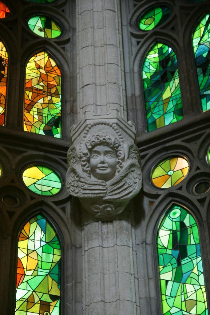 Colonne de la Sagrada Familia