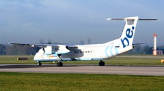 FlyBe British European De Havilland Canada DHC-8-402Q Dash 8 G-FLBE (Mark 1991) Tags: man manchester manchesterairport dash8 dehavilland britisheuropean flybe dhc8 gflbe