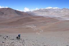 Descending towards Bonete