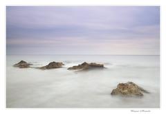 Les Rotes Denia (Paqui Ronda) Tags: longexposure water clouds landscapes mar agua playa hitech rocas de
