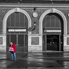 Blue White Red (Thomas Rombauts) Tags: world street blue red portrait people bw white man black france square jack photography nikon europe noiretblanc market thomas union versailles squareformat iledefrance selectivecolor selectivecolour régionparisienne parisregion rombauts