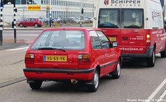 Nissan Micra 1.2 LX automatic 1990 (Wouter Bregman) Tags: auto old classic netherlands car amsterdam japan vintage asian japanese automobile nissan nederland voiture automatic 12 micra paysbas japon 1990 ancienne lx asiatique automaat japonaise nissanmicra ys55yk sidecode4