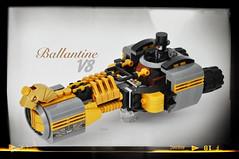 [TechWest] Wild-Bit Blackwood & The Ballantine V8 (Toto Hermanto) Tags: indonesia lego wildwest speeder lug steampunk moc foitsop dieselpulp techwest lugindonesia