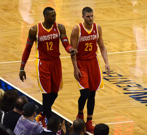 Dwight Howard And Chandler Parsons by jrg1975, on Flickr