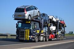 Scania P420 'Carlson' reg KM62 EFL (erfmike51) Tags: carlson lorry artic cartransporter scaniap420