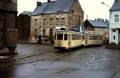BERTGORT: Motrice+ Remorque (Peter Eijkman( meijkie)) Tags: belgie tram trams tec tramtracks hainaut henegouwen hainault vicinal smalspoor sncv nmvb buurtspoorwegen vicinaux teccharleroi boerentram tecanderlues