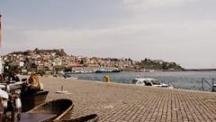 Kavala (Nafsika Chatzitheodorou) Tags: sea castle port hellas greece kavala bluecafe   flickrandroidapp:filter=none ilovekavala