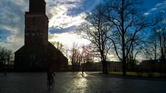 14.4.2014  Maanantaiaamu  -  Mondaymorning  Turku-Finland (rkp11) Tags: morning primavera finland spring turku nieve neve neige  printemps frhling nieg vr wiosna 2014  mondaymorning bo  turuntuomiokirkko aamu schneeregen turkucathedral aguanieve   nevischio neigefondue lightroom5 maanantaiaamu  1442014 lumia1020