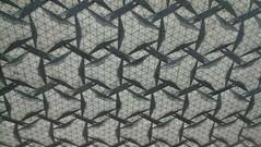 Backlit T and B (Tom Crain Origami) Tags: origami tessellations origamitessellations