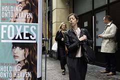FOXES - The New Single (stevedexteruk) Tags: street new london advertising holding heaven argyll soho billboard single foxes onto 2014