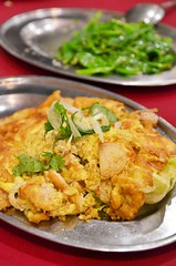 Fu Yong Omelette (J2Kfm) Tags: food fish restaurant malaysia seafood ipoh perak pasirputeh