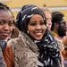 Kenyan & Somalian faces in the crowd