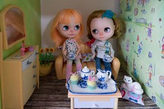 Blythe a Day 09 May 2014 - Tea time