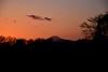 20150210_003_2 (まさちゃん) Tags: 雲 空 夕焼け 飛行機雲 ひこうき雲 茜色 夕焼け空