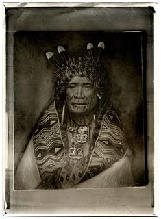 Rangi Topeora of Ngāti Toa and Ngāti Raukawa