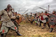Der Kampf (Schneeglöckchen-Photographie) Tags: fight battle warrior middleages krieger kampf mittelalter schlacht