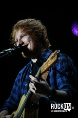 Ed Sheeran (Rockon.it) Tags: musician music concert italia folk live milano stage forum gig pop singer acoustic songwriter assago forumassago edsheeran robertofinizio