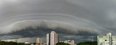 (IgorCamacho) Tags: summer brazil sky storm nature paran weather brasil clouds natureza cu southern cielo nubes tormenta nuvens vero tempo sul temporal severeweather clima tempestade stormfront waitingfortherain shelfcloud frentederajada
