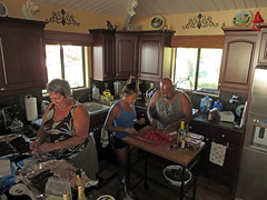busy kitchen (BarryFackler) Tags: life windows party food house home cooking kitchen dinner island hawaii polynesia salad oven sink wine shrimp stove meal tropical lobster seafood bobby bigisland refrigerator dinnerparty bettyboop kona preparation cabinets gettogether captaincook 2015 lobstertails hawaiicounty garlicbutter southkona hawaiiisland westhawaii cookslanding captaincookhi captaincookhawaii bettybowen barryfackler barronfackler bettyfackler southkonaphysicaltherapy saleshia