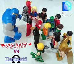 Justice League vs Darkseid (VpV555) Tags: dccomics dcsuperheroes vpvstudio