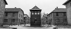 Auschwitz (Ben Cridge) Tags: camp blackandwhite panorama concentration holocaust high documentary horrible auschwitz timeless contast