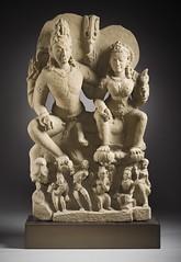 Umapati (Shiva, the Primeval Father God, and Uma, the Great Mother Goddess) LACMA M.72.53.2 (1 of 16) (Fæ) Tags: wikimediacommons imagesfromlacmauploadedbyfæ sculpturesfromindiainthelosangelescountymuseumofart shivaandparvatiinsculpture